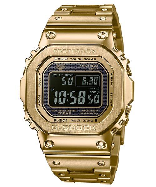【eWhat億華】 CASIO G-SHOCK系列 GMW-B5000GD-9 太陽能電力 時尚數位顯示手錶 GMWB5000 平輸 現貨 【4】
