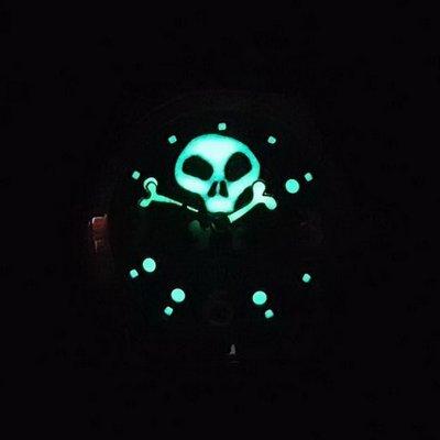 ㊣ 崑崙 CORUM 限量款 骷髏 泡泡錶 日期窗 瑞士 bubble 手錶 skull 沛panerai ¥ 賠售 ¥