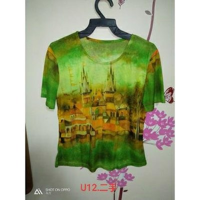 U12.二手  時尚百搭短袖T恤