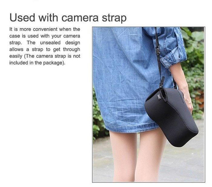 又敗家JJC黑色相機包OC-MC3大,質料A防潑水防震防刮包相機內袋單眼相機內膽包輕單相機內包相機套相機袋微單相機軟包相機軟包微單眼內膽包輕單眼內胆包輕單內胆包