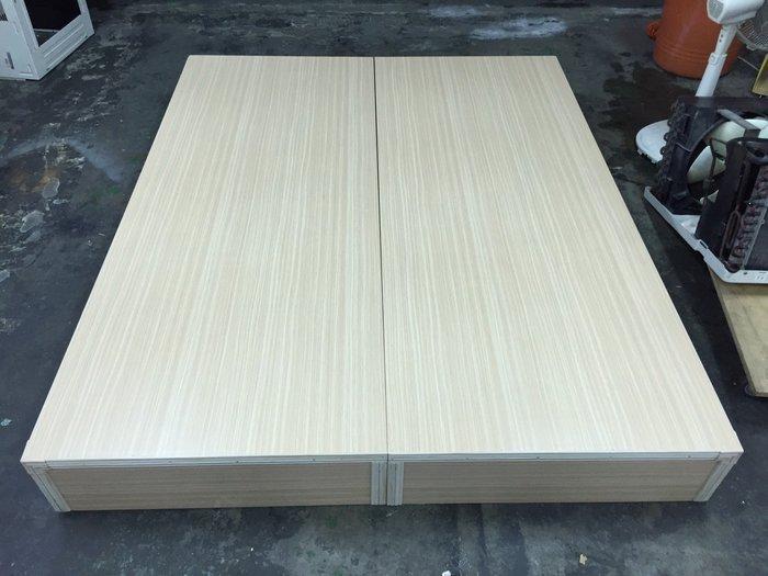 非凡二手家具 (全新)白橡木 5尺雙人床箱*床底*雙人床底*床箱*床架