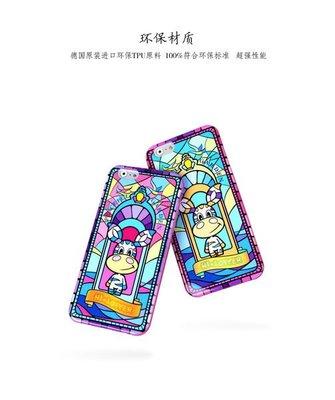 /SY/蘋果iphone 6 4.7吋【預購】LOFTER 洛夫特教堂窗畫系列 保護套 APPLE 6 超薄TPU套