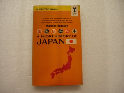 A Short History of JAPAN by Malcolm Kennedy    絕版二手英文小說/書籍