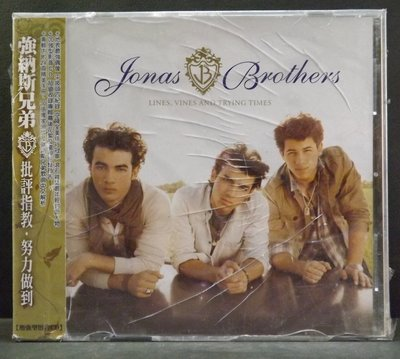 CD JONAS BROTHERS-LINES, VINES AND TRYING TIMES~全新品~15DF09C0
