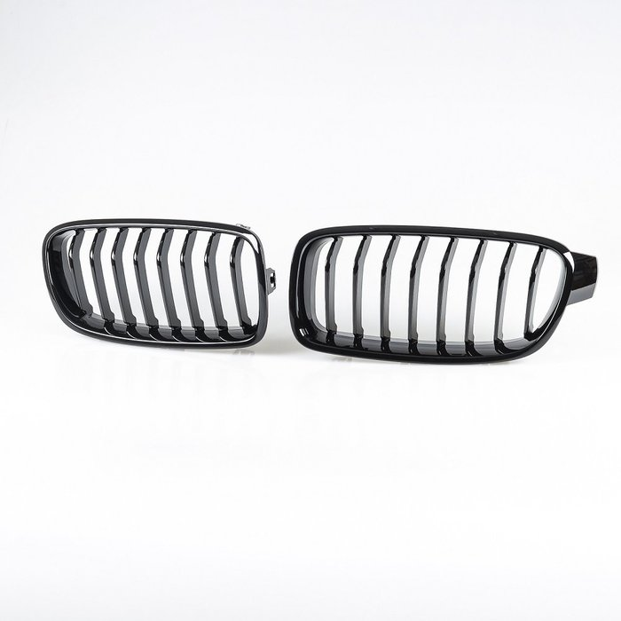 [亮黑] Sports樣式 8桿 水箱罩鼻頭格柵 寶馬BMW 3系列 F30 F31用 2012-2019年式適用