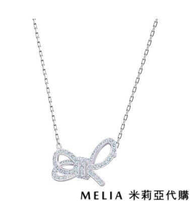 Melia 米莉亞代購 0305 19ss Swarovski 施華洛世奇 LIFELONG BOW 項鍊 愛情象徵