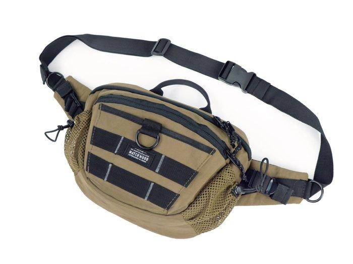 【Matchwood直營】Matchwood Portable Max 斜背腰包 胸前隨身包 卡其款 開學限時優惠