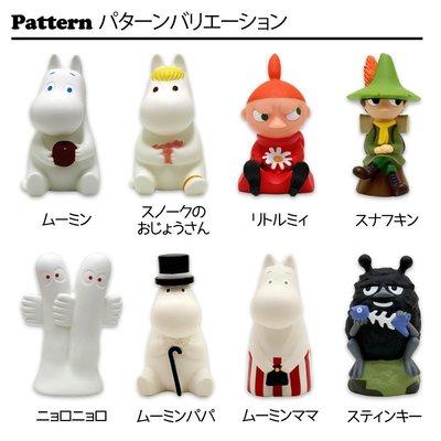 尼德斯Nydus 日本正版 Moomin 姆明 嚕嚕米 小肥肥一族 女巫 小美 小不點 小存錢筒 模型公仔