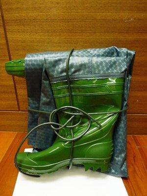 附發票*東北五金*正臺灣製 高級防水衣 雨衣 雨鞋 工作服 青蛙裝 夾網加厚型設計 12號!