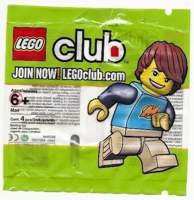(JEFF) LEGO 樂高 852996 Club Max 樂高俱樂部 人偶 Polybag 非71002 71022