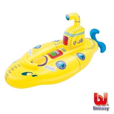 金潮派-Bestway。兒童充氣潛水艇造型坐騎(69-34410)