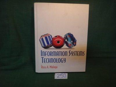 【愛悅二手書坊 19-54】INFORMATION SYSTEMS TECHNOLOGY