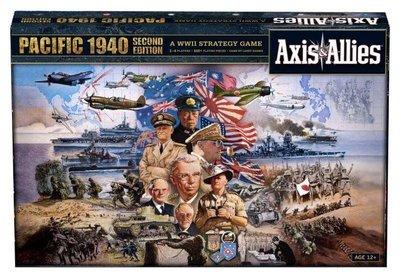 大安殿 Axis & Allies Pacific 1940 2nd 軸心&同盟國 太平洋1940 豪華第二版 正版桌遊
