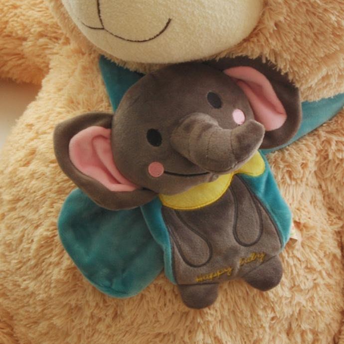 兒童圍巾-動物圍巾-保暖圍巾大童成人使用 可愛動物造型