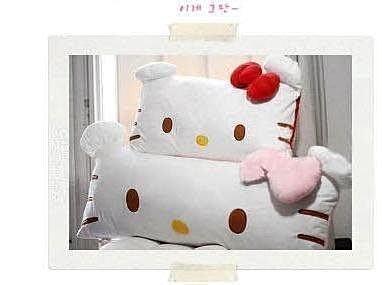 【易發生活館】Hello Kitty 可拆洗系列抱枕雙人枕單人枕頭靠墊抱枕毛絨PP棉填充
