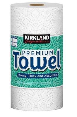 好市多專職代購-Kirkland Signature 科克蘭 隨意撕特級廚房紙巾 160張 X 1捲