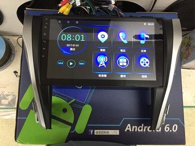 17 CAMRY 10吋安卓上網車用主機 導航王 倒車攝影