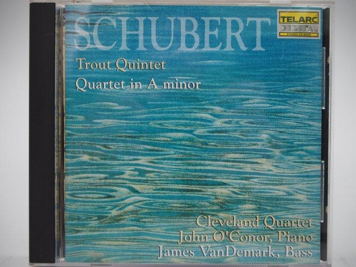 【月界二手書】Schubert:Trout Quintet/Quartet In A Minor…_古典樂〖專輯〗CIR
