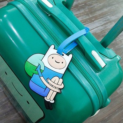 [SPOOKY!Two8*] 韓國購回 現貨 Adventure Time 探險活寶 阿寶 行李牌/行李吊牌/名片牌