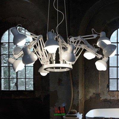 【美學】歐式現代簡約客廳美式餐廳辦公室伸縮12頭蜘蛛吊燈MX_992