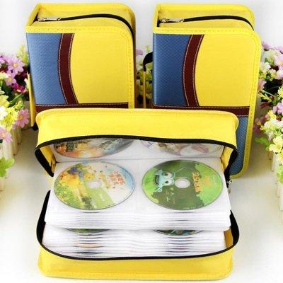 可開發票 大容量家用CD包音樂光盤盒D...