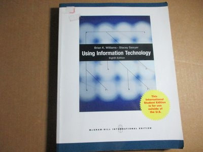 Using Information Technology》ISBN:0070184992│McGraw Hill Hig
