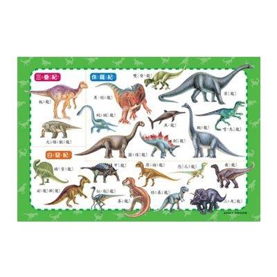 ☆天才老爸☆→【世一】恐龍拼拼樂(54片拼圖) B2698-3