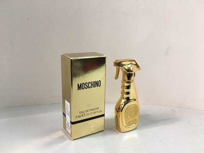 (2018 new) Moschino Gold Fresh Couture EDP 5ml 迷你香