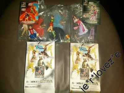 (最後) 全新 KOEI 真三國無雙3 無雙選集 盒蛋 大喬小喬 貂蟬特别版 (2盒) 三國誌