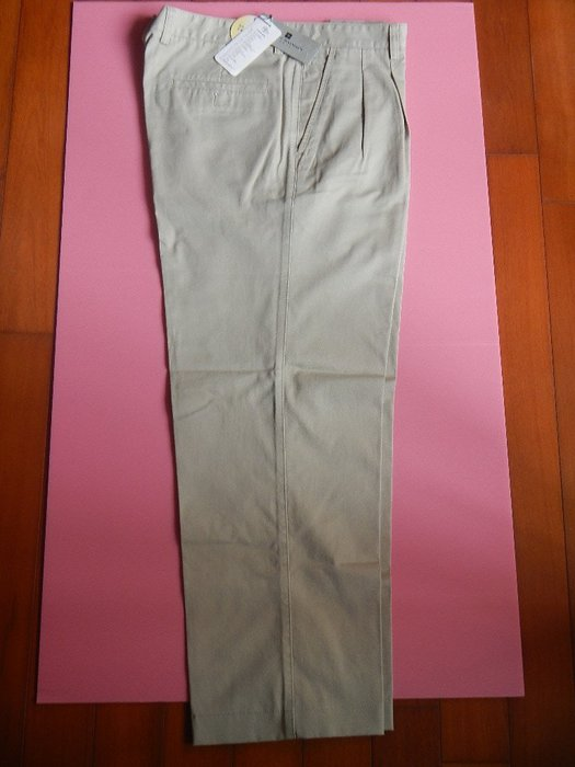 【甜心寶貝】法國 Pierre Balmain 休閒兼正式長褲兩件 / M ~ L 適穿