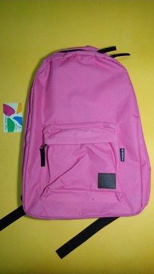 Hang Ten 後背包 帆布包 電腦背包 旅行背包 書包 粉紅色,台北可面交,直  150元