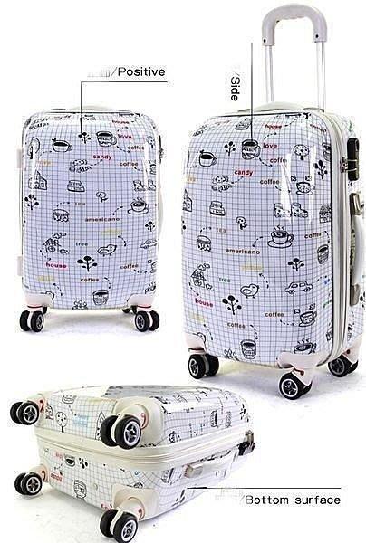 纯净世界 20吋 24吋 旅行箱 行李箱