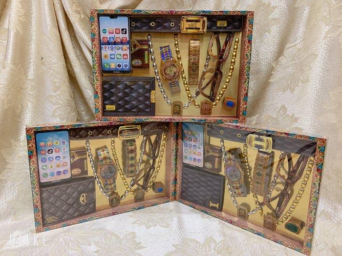 涵堯紙品      紙紮館    (男)雅致極品珠寶盒