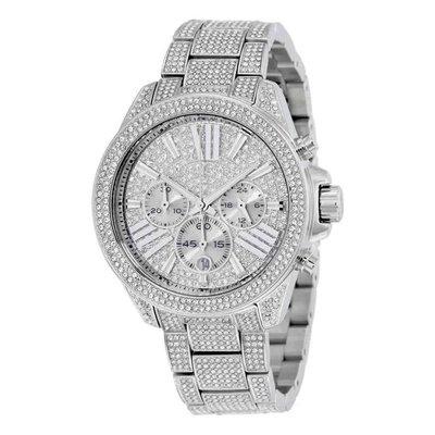 【換日線】女錶 Michael Kors Chronograph Crystal Pave Dial Ladies Watch MK6317