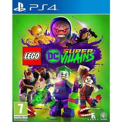 【二手遊戲】PS4 樂高 DC 超級反派英雄 LEGO DC SUPER VILLAINS 中文版【台中恐龍電玩】
