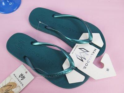 【iSport愛運動】MALVADOS 夾腳人字 涼拖鞋  10031779 女款 金屬色 PLAYA