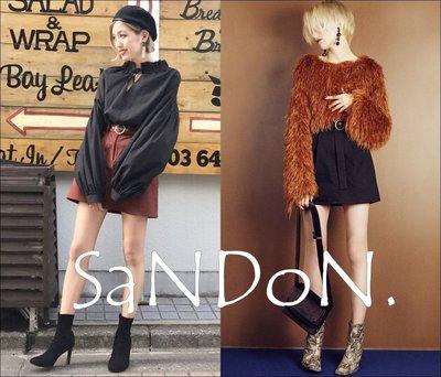 SaNDoN x『EMODA』秋冬official site 圓環復古A LINE復古褲裙 SLY 171013