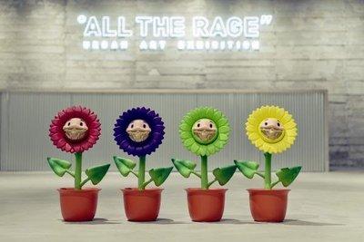 - 全新現貨 - RON ENGLISH Flower Grin ALONG THE WAY 限定 天線寶寶 花
