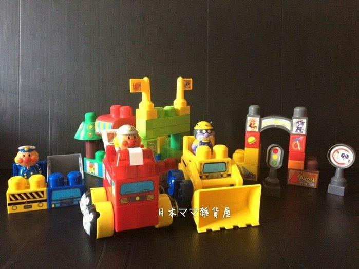 日本麵包超人積木玩具/音效積木-【日本帶回】