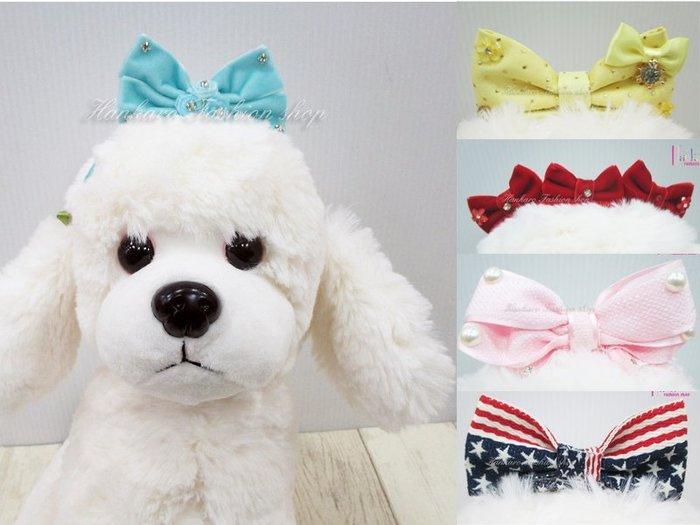 ☆[Hankaro]☆ 寵愛毛小孩可愛造型蝴蝶結BB夾頭飾系列裝扮