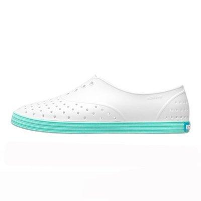[CABAS滑板店] NATIVE JERICHO SHELL WHITE/YUCCA BLUE | 法式 馬卡龍 防水