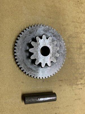 名流150 起動齒輪及軸