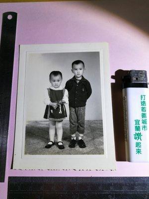 銘馨易拍重生網 PSS40 早期(50年代)幸福家庭 兄妹情深 童年回憶 合照 保存如圖 (珍藏回憶)讓藏