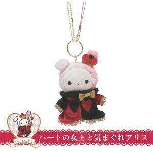 4165本通 板橋店 日本SAN-X 憂傷馬戲團女皇絨毛玩偶吊飾/鑰匙圈