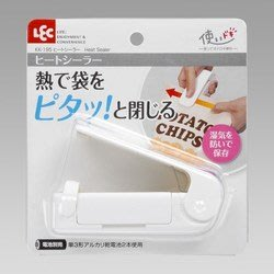 代購現貨  日本熱銷家用品 電池式熱封口機