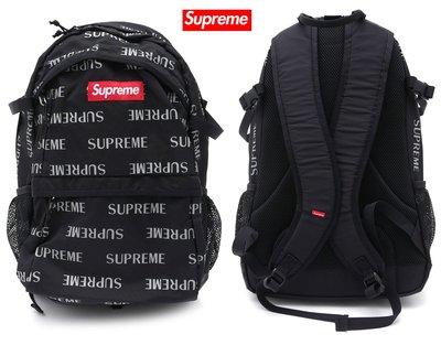 【超搶手】全新正品2016 Supreme 3M Reflective Repeat Backpack 41代反光後背包