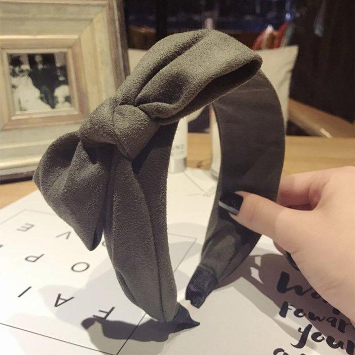 發卡發箍韓版發飾打結寬邊發窟頭箍韓版百搭氣質簡約發帶韓國頭飾