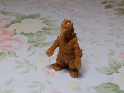 哥斯拉 怪獸 單色膠公仔 1隻 6