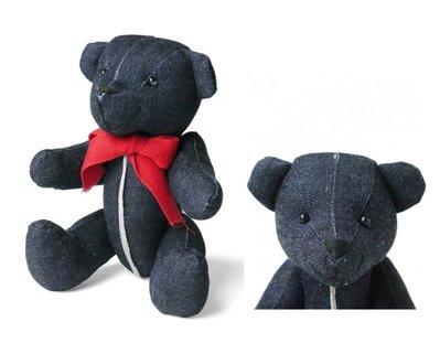 { POISON } INTERBREED SELVEDGE INDIGO TEDDY BEAR 赤耳丹寧泰迪熊