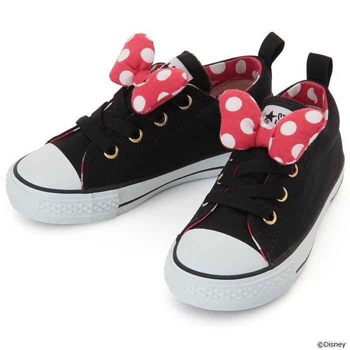 日本 ALL STAR 100週年 紀念 帆布鞋 休閒鞋 米妮 限定 限量 女童 款 CONVERSE 免運 童鞋